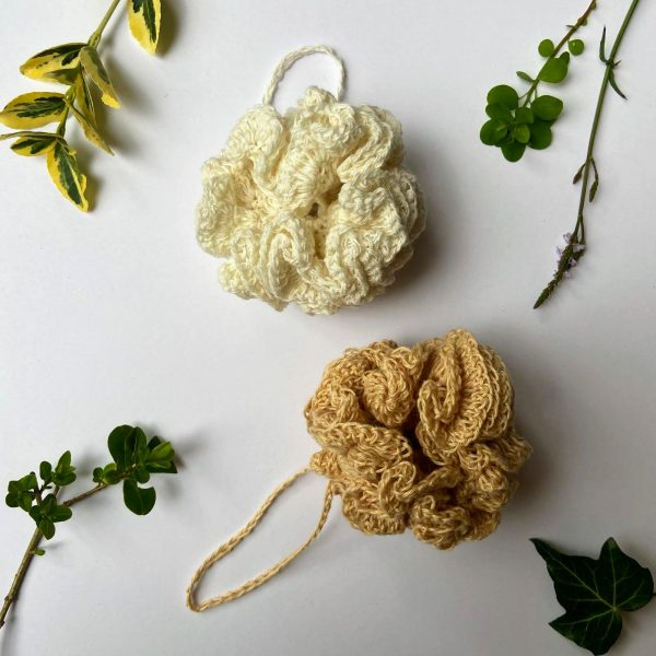 Ecopia Stockport Crocheted Bath Puffs