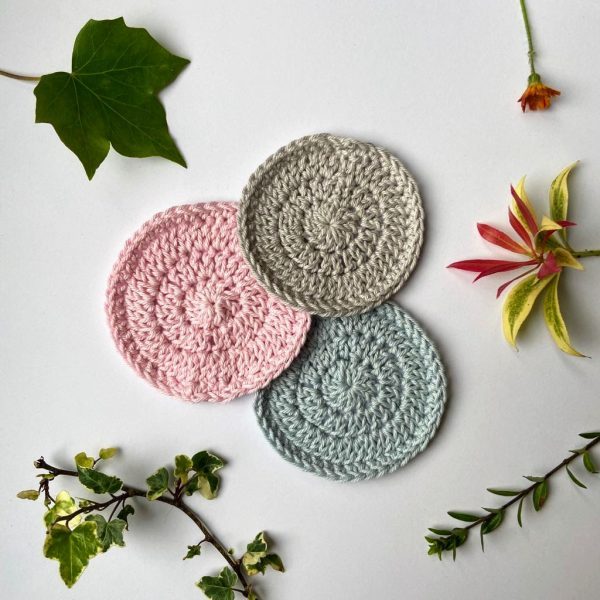 Ecopia Stockport Eco-friendly cotton face scrubbies