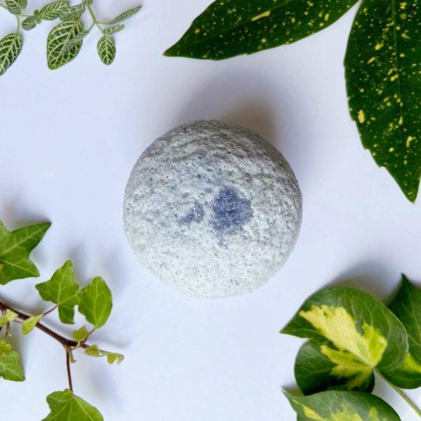 Lavender Epson salts vegan bath bomb