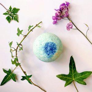 Lavender Epsom salts bath bombs