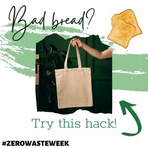 Stop bread from going bad with a canvas bag