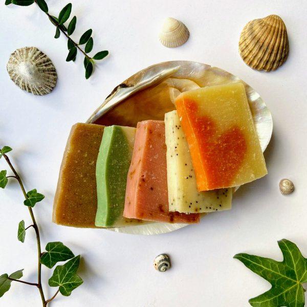 Handmade natural vegan soaps