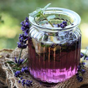 Lavender essential oil bath bombs