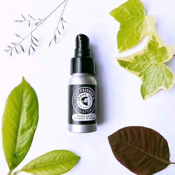 vegan natural beard oil