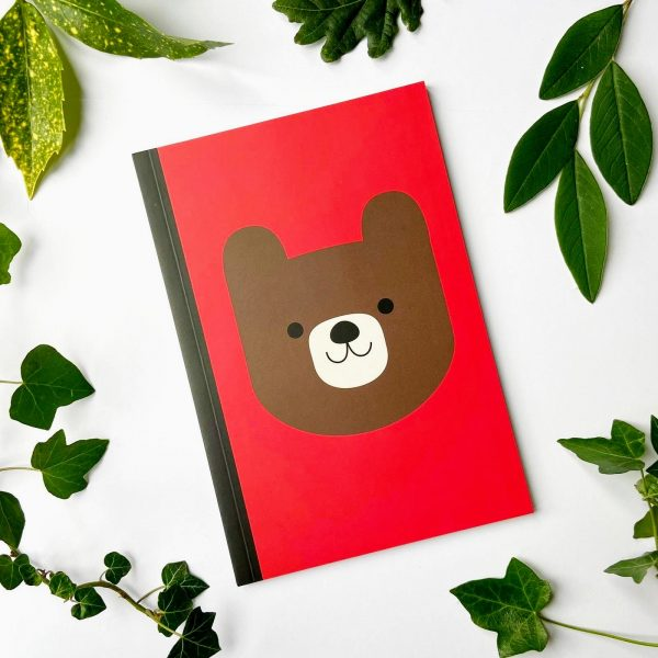 Happy bear notebook for kids